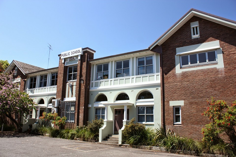 Abbotsford Public School building 1924